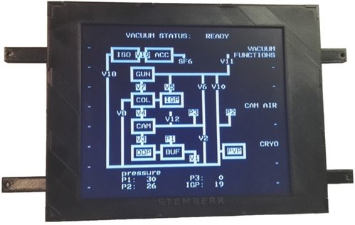 LCD display for TEM Philips CM